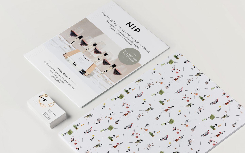 Marloes Janssen | NIP wijnkit brand development